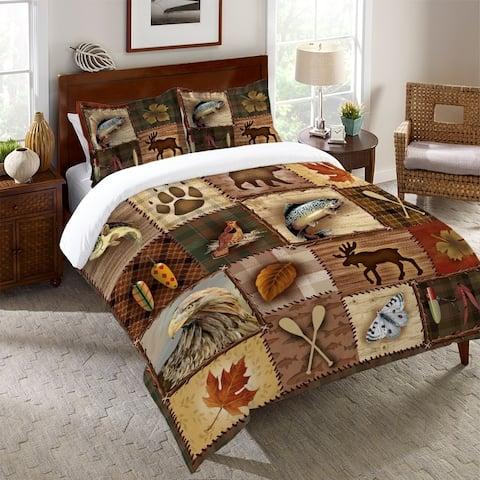 Laural Home Plaid Lodge Standard Pillow Sham