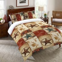 Laural Home Rodeo Patch Duvet Cover