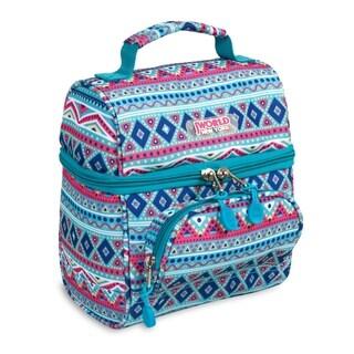 J World New York COREY Lunch Bag MINT TRIBAL