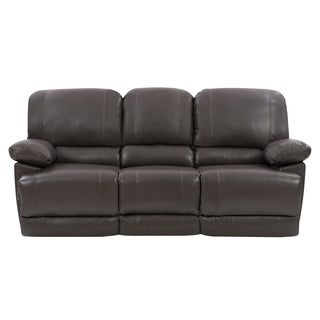 CorLiving Lea Bonded Leather Power Reclining Sofa With USB Port (3 options available)
