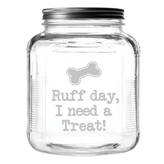 Ruff Day Gallon Treat Jar