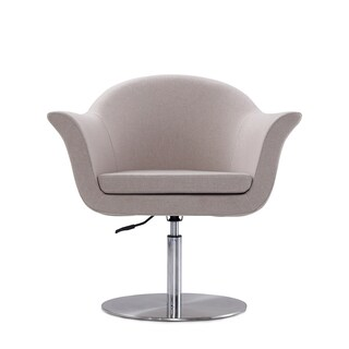 Voyager Swivel Adjustable Accent Chair (Option: Barley)