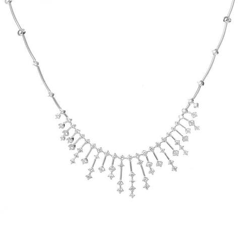 Salvini White Gold Diamond Necklace