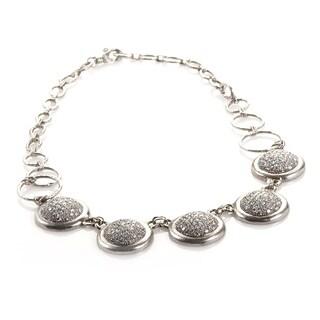 Gurhan Platinum and Diamond Pave Necklace