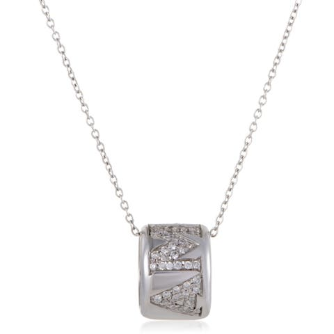 Pasquale Bruni Amore Womens White Gold Diamond Ring Pendant Necklace