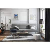 Clay Alder Home Isleton Deluxe Futon with Memory Foam