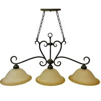"""3-Light Classic Hanging Island Pendant 