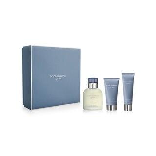 Dolce & Gabbana Light Blue Pour Homme Men's 3-piece Gift Set