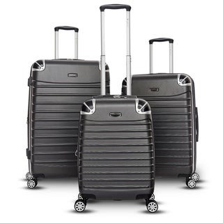 Gabbiano Leon Collection 3 Piece Hardside Spinner Set