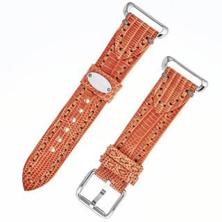 Fendi Women's 'Selleria' TS18R09S Orange Leather Strap