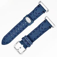Fendi Women's SS18RH3S Navy Blue Leather Strap