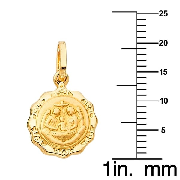 Jude Pendant DiamondJewelryNY 14kt Gold Filled St