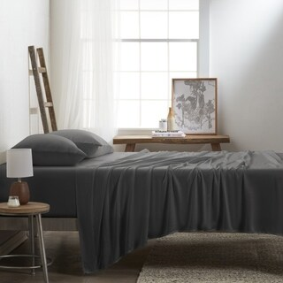 Link to Becky Cameron Premium Rayon from Bamboo 4-Piece Luxury Bed Sheet Set Similar Items in Bed Sheets & Pillowcases