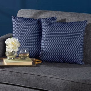 Danne Print Fabric Throw Pillow (Set of 2) by Christopher Knight Home