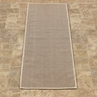 """Ottomanson Nature Cotton Kilim Collection Solid Color Runner Rug - 2'7"""" x 5'11"""""""
