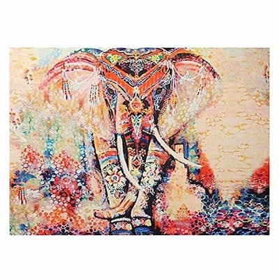 Boho Style Tapestry Wall Hanging Blanket Art Wall Decor for Living Room/Bedroom 130 X150cm