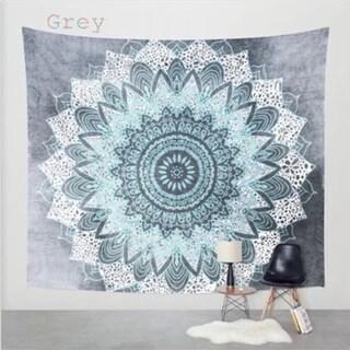 Boho Style Handmade Tapestry Wall Hanging Blanket Art Wall Decor for Living Room/Bedroom 130 X150cm (Option: Grey)