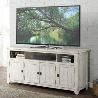 Martin Svensson Home Nantucket Antique White Pine/Veneer 65-inch TV Stand