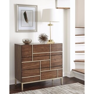 Artistically Charmed Accent Cabinet, Brown
