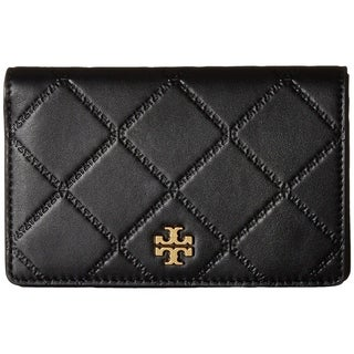 Tory Burch Georgia Slim Medium Wallet-Black