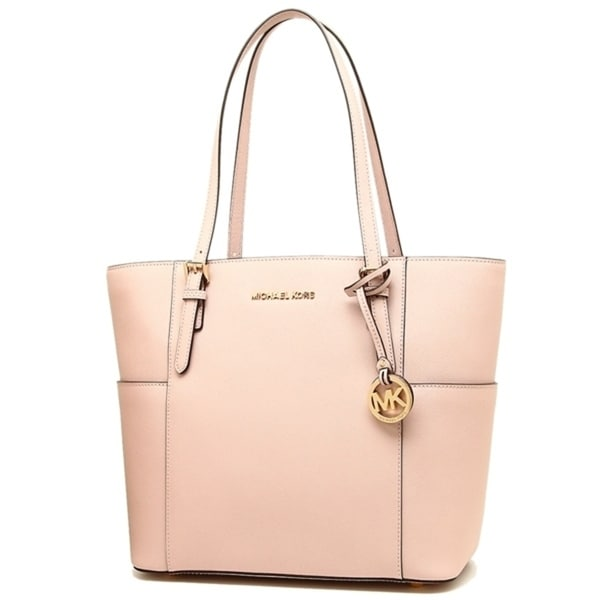 cee2ccd3ec08 Shop MICHAEL Michael Kors Jet Set Travel Large Tote Soft Pink - Free ...