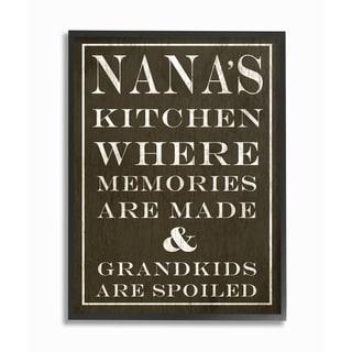 Stupell Industries Nanas Kitchen Wall Art