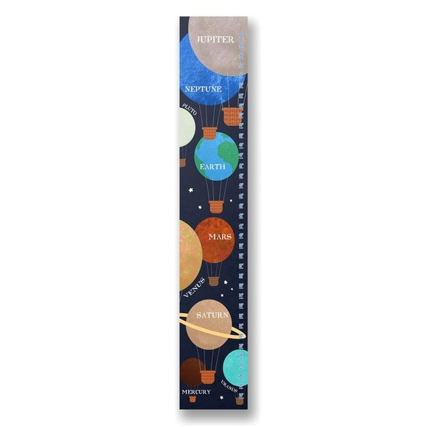 Stupell Industries Planet Balloons Wall Art - 7 x 39