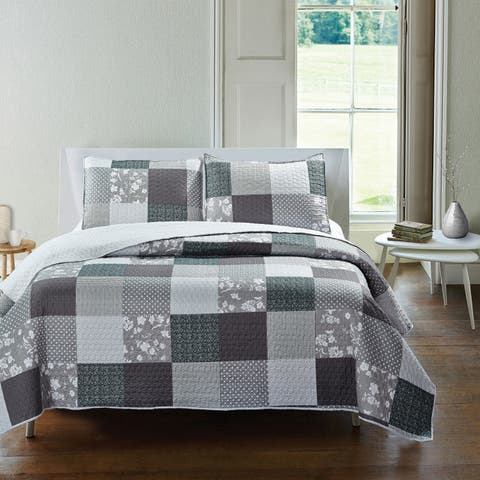 Adrien Lewis - Graham 3pc Quilt Set