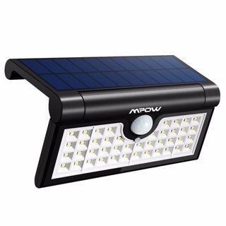 Mpow 42 LED Foldable Motion Sensor Solar Light, Portable Outdoor Light with 120° Sensing Angle