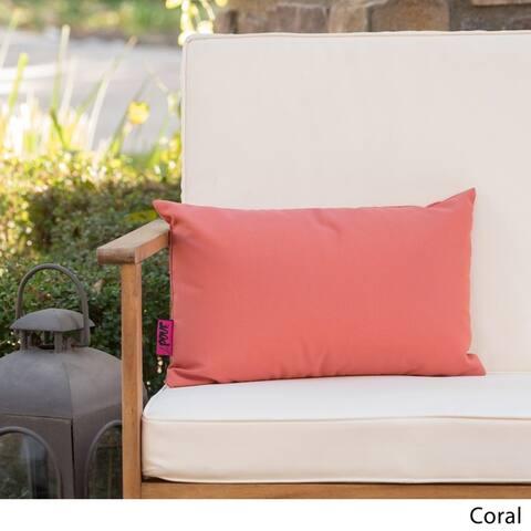 Coronado Outdoor Rectangle Pillow by Christopher Knight Home