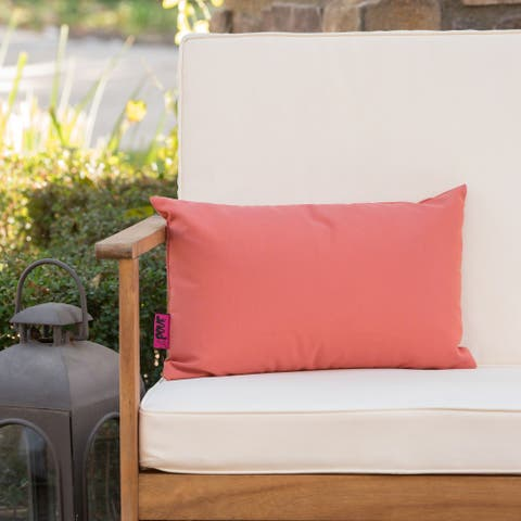Coronado Outdoor Rectangle Pillow by Christopher Knight Home