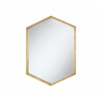 Metal Wall Mirror, Gold
