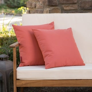 Link to Coronado Outdoor Pillow (Set of 2) by Christopher Knight Home Similar Items in Outdoor Cushions & Pillows