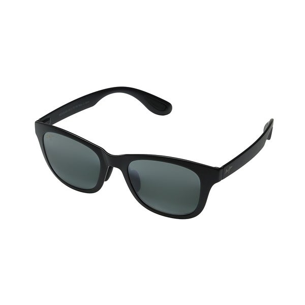 a737a83e80 Maui Jim Fashion Maui 434 Hana Bay 2M Unisex Matte Black Frame Grey Lens  Sunglasses