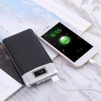 Portable 8000mAh Dual USB Power Bank External Battery Charger with LCD for Cellphone