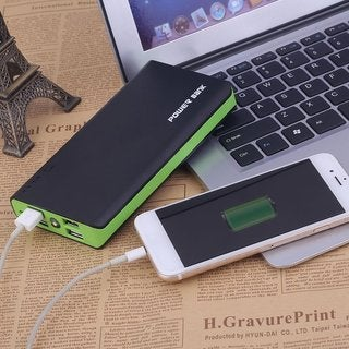 Portable 15000mAh 4 USB Power Bank External Battery Charger for Cellphone