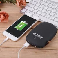 Portable 6000mAh Dual USB Power Bank External Battery Charger for Cellphone