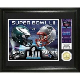 Super Bowl 52 Dueling Bronze Coin Photo Mint (NEP vs PE) - Multi-color