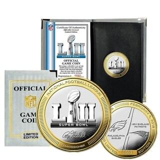 Super Bowl 52 Official 2-Tone Flip Coin (NEP vs PE) - Multi-color