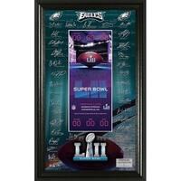 Philadelphia Eagles Super Bowl 52 Signature Ticket - Multi-color
