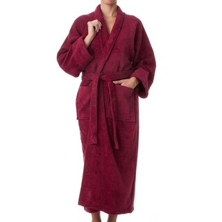 Kotter Home 100% Long Staple Cotton Terry Cloth Robe