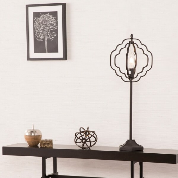 Harper Blvd Lofton Black Geometric Table Lamp