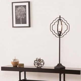 Harper Blvd Lofton Black Geometric Table Lamp