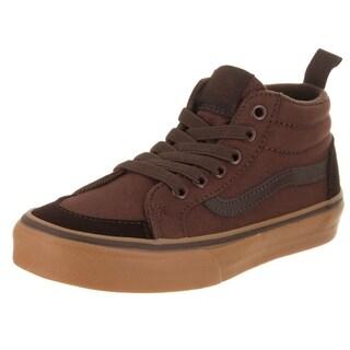 Vans Kids Racer Mid (Suede Toe Cap) Skate Shoe