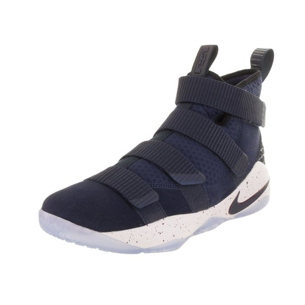 new style ff9f7 fa649 Nike Men  x27 s Lebron Soldier XI Basketball Shoe