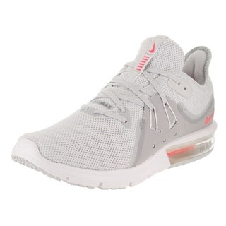 Buy 176707 Nike Air Max Men Light Grey Black White Shoes