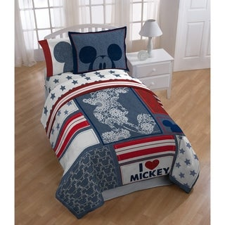 Shop Minnie Mouse Hearts And Dots 7 Piece Reversible Bed