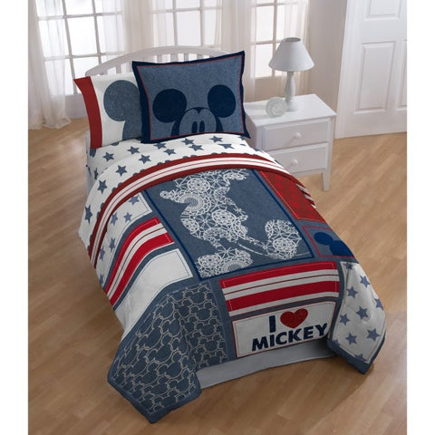Disney Mickey Mouse Americana 5-piece Bed In A Bag Set