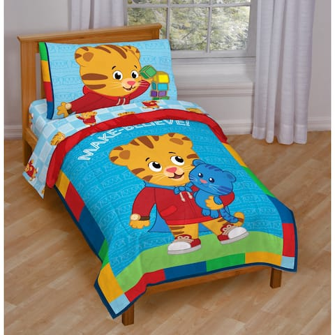 Daniel Tiger Toddler 4-piece Bed in a Bag Set