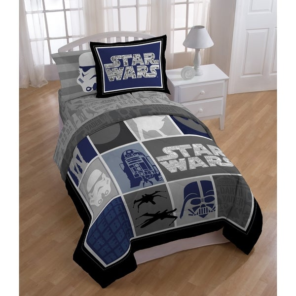 Shop Star Wars Classic Twin 4 Piece Bed In A Bag Set Ships To